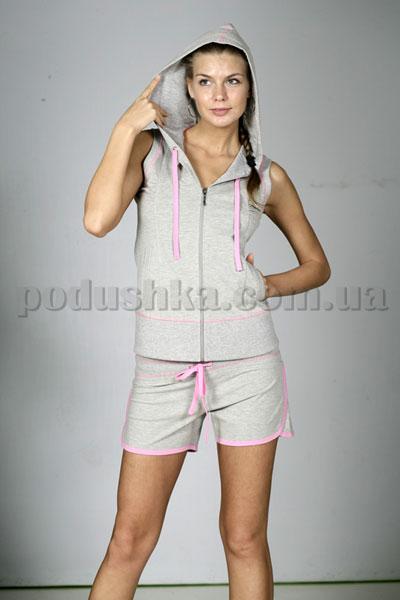 Пижама (кофта с капюшоном + шорты) LILAM'S 70-014