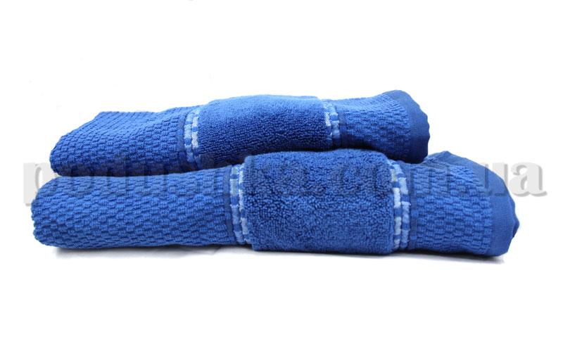 Полотенце махровое Shamrock KARYA синее