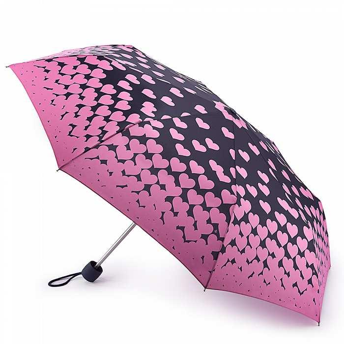 Женский зонт Fulton Minilite-2 L354 Floating Hearts плавающие сердца