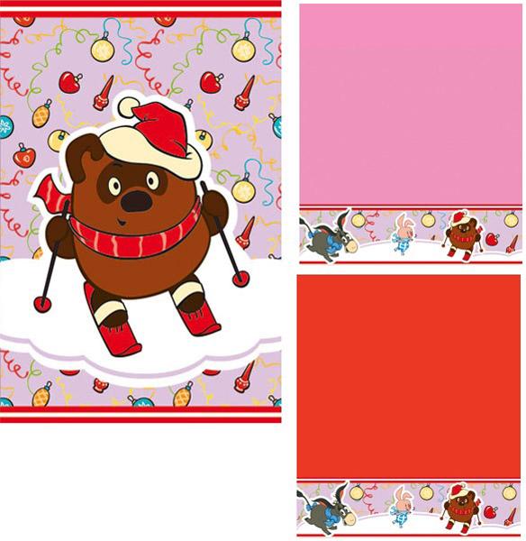 Набор махровых полотенец  Новый год-2