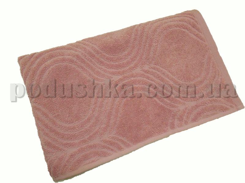 Полотенце махровое Belle-Textile Breeze темно-розовое