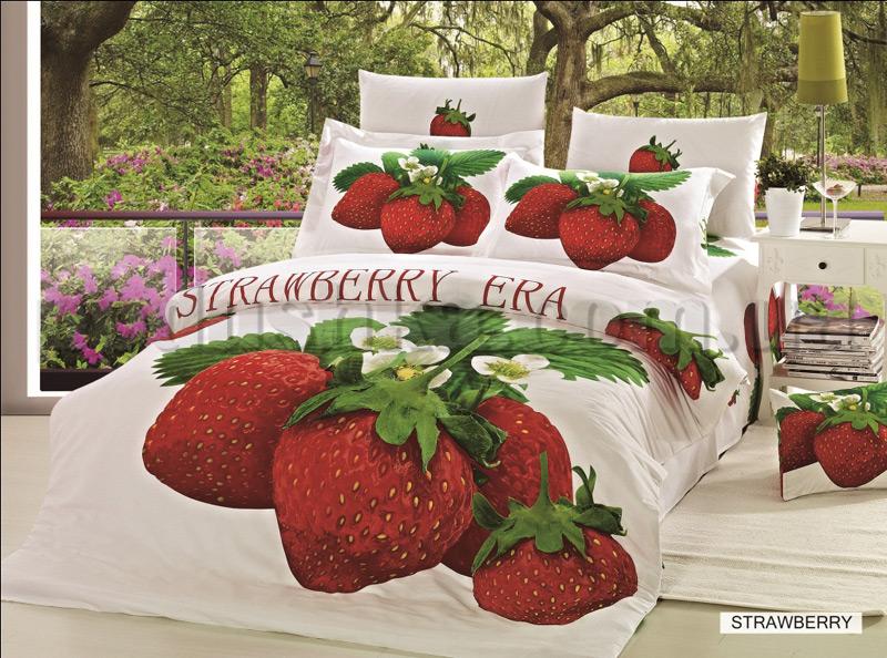 Постельное белье Arya Strawberry