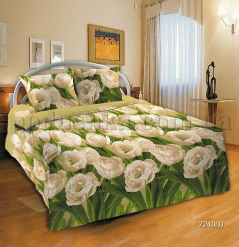 Постельное белье Шуйские ситцы Тюльпаны 72401