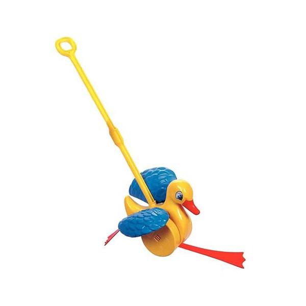 Игрушка-каталка - Веселый Утенок