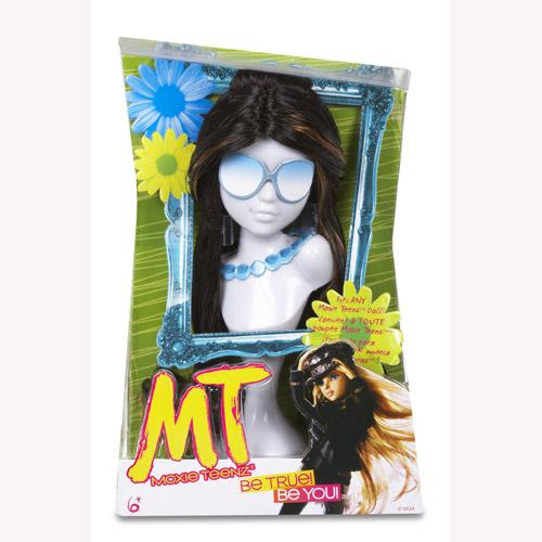 Парик для куклы Moxie Teenz - Загадочная Брюнетка
