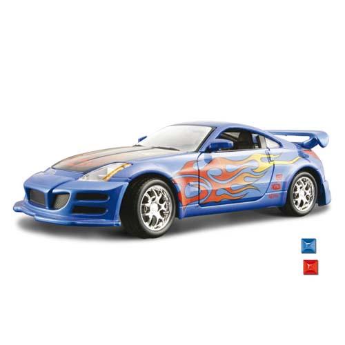 Автомодель - Nissan 350Z  (ассорти синий, красный, 1:24)