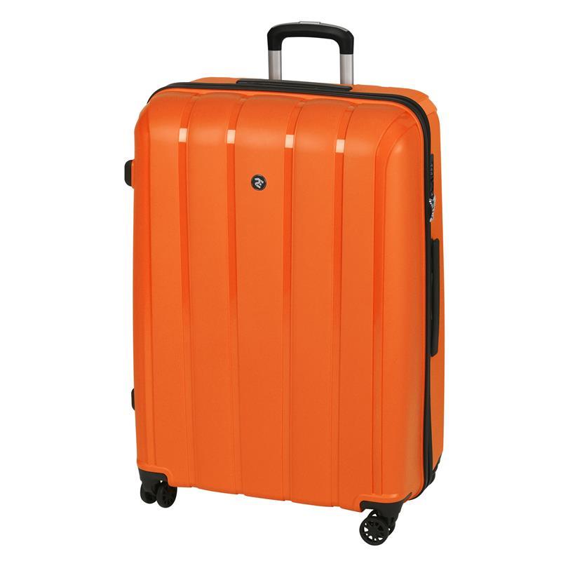 Чемодан пластиковый 2E BagsCases Youngster большой 4 колеса 2E-SPPY-L-OG оранжевый