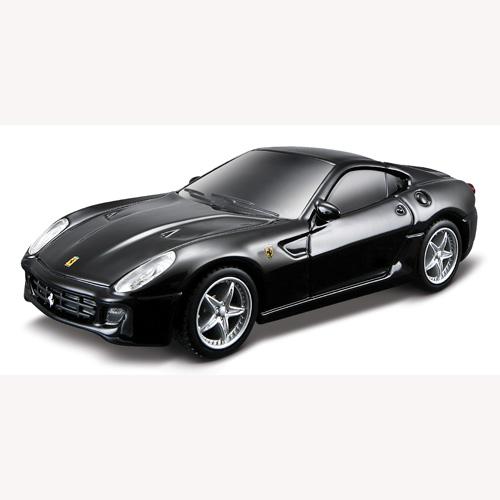 Игровой набор - Ferrari 599 GTB Fiorano HGTE (автомодель со светом и звуком, аксессуары)