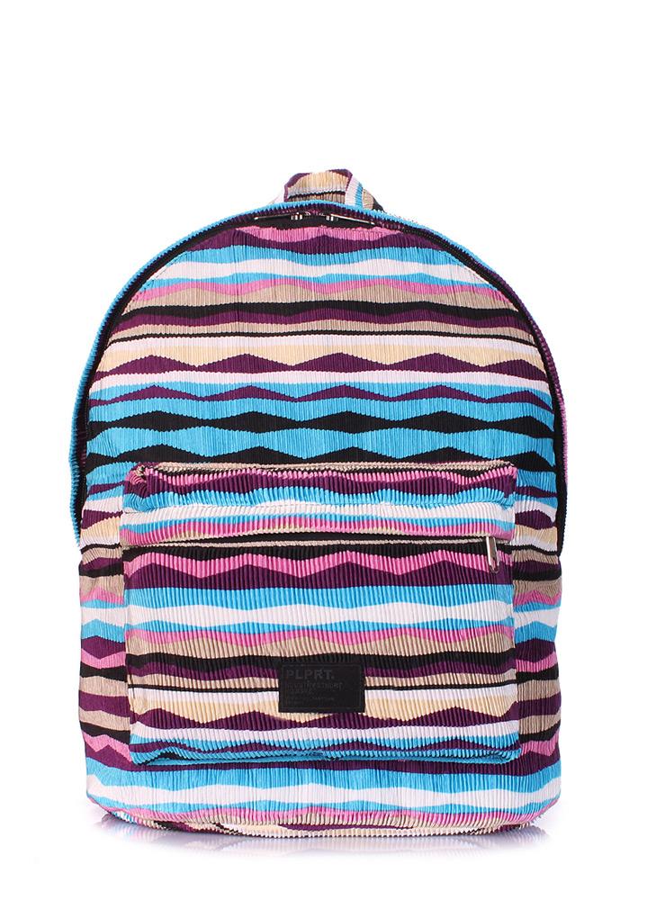Рюкзак женский Poolparty Backpack rasta blue