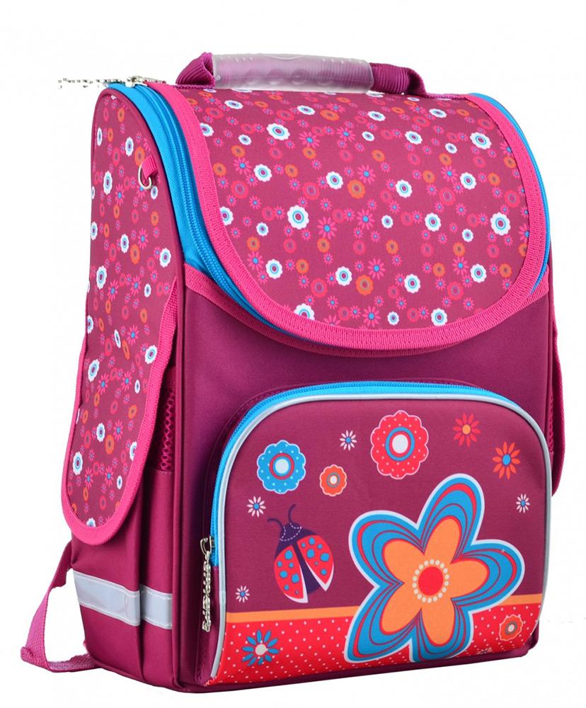 0770f4c84464 Рюкзак каркасный Smart PG-11 Flowers red 34x26x14 см 554456 купить в ...