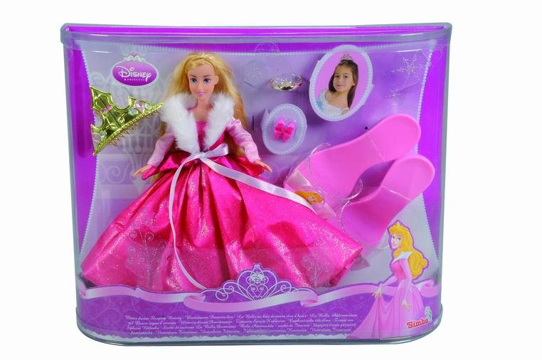 Кукла с тиарой и сказочной обувью