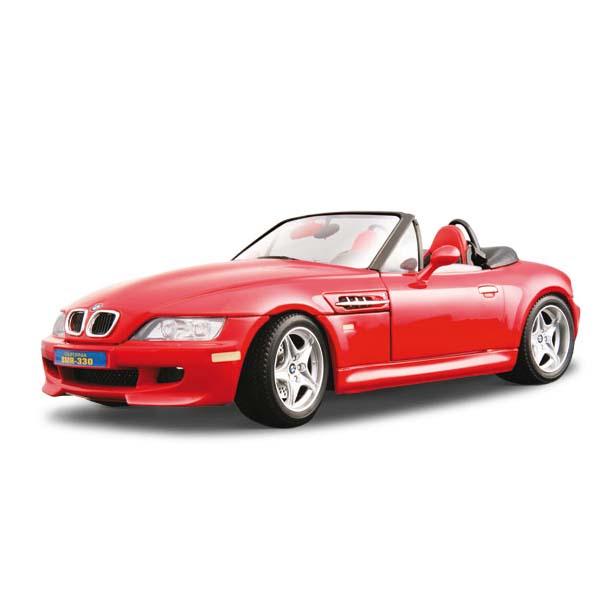 Авто-конструктор - BMW M Roadster (1996) (красный, 1:18)