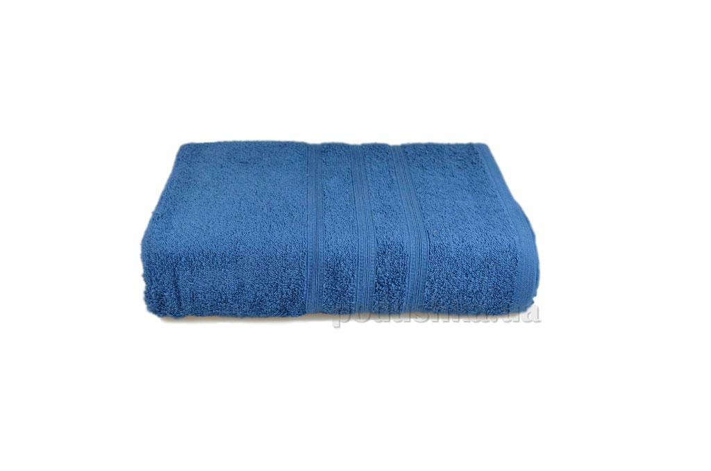 Махровое полотенце Home line Индия синее 30х30 см  Home line