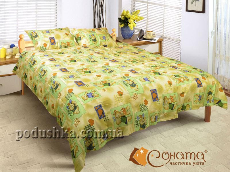 Постельное белье Мишки (для детской кроватки)