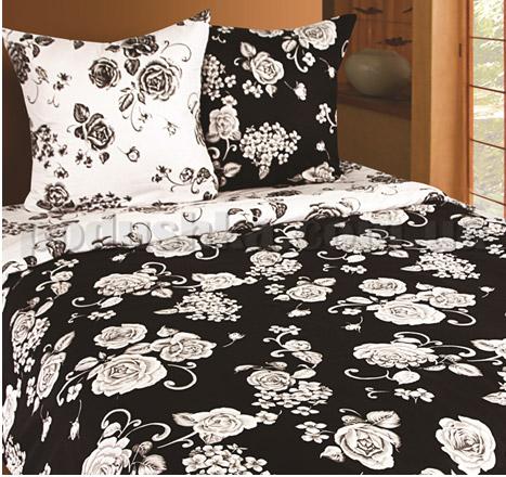 Постельное белье Belle Textile Baccara черно-белый