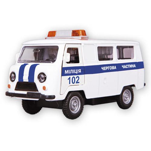 Автомодель - УАЗ-39625 Милиция (свет, звук)