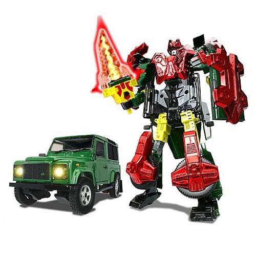 Робот-трансформер - Land Rover Defender 90 (1:24)