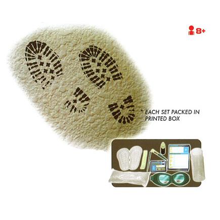 Набор для опознания отпечатков обуви
