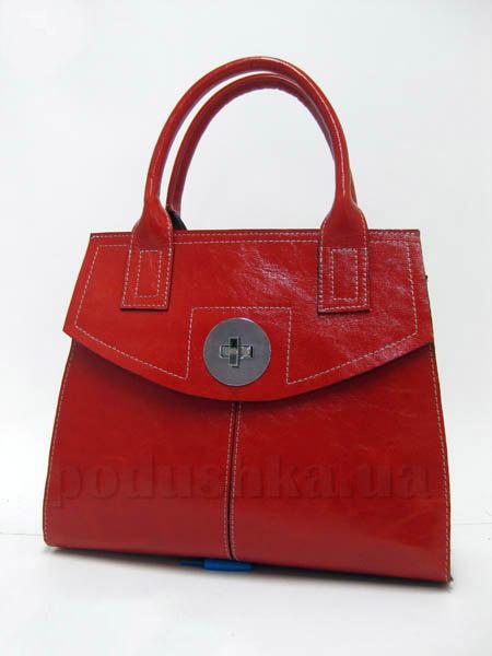 Сумка из натуральной кожи Artis Bags 751 красная