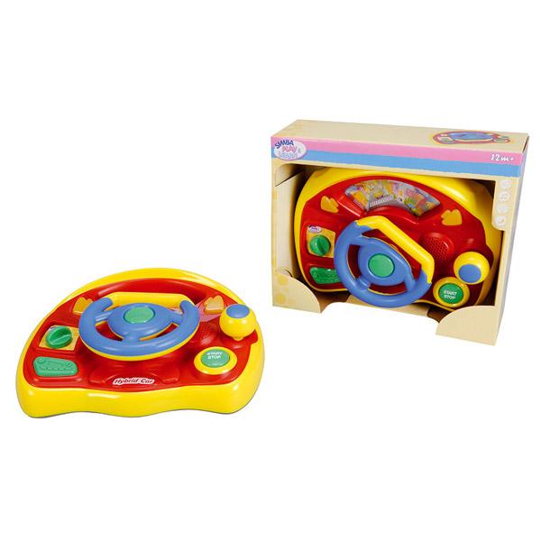 Многофункциональный детский руль 32см