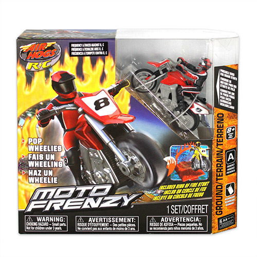 Мотоцикл с радиоуправлением Moto Frenzy Stunt Bike