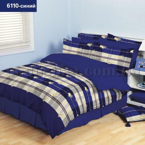 Постельное белье Вилюта ранфорс Platinum 6110 синий