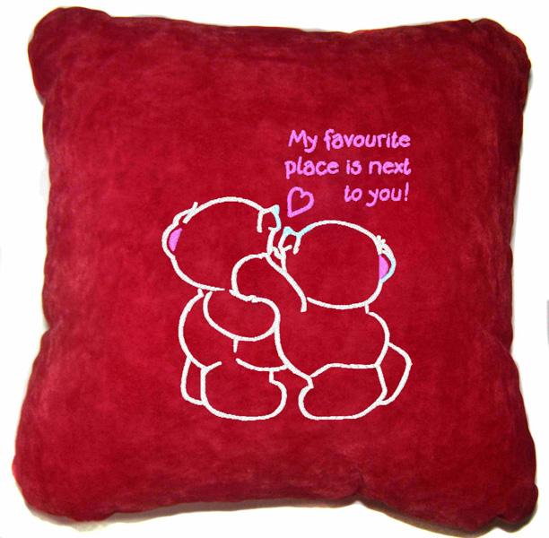 Подушка Мое место быть с тобою рядом