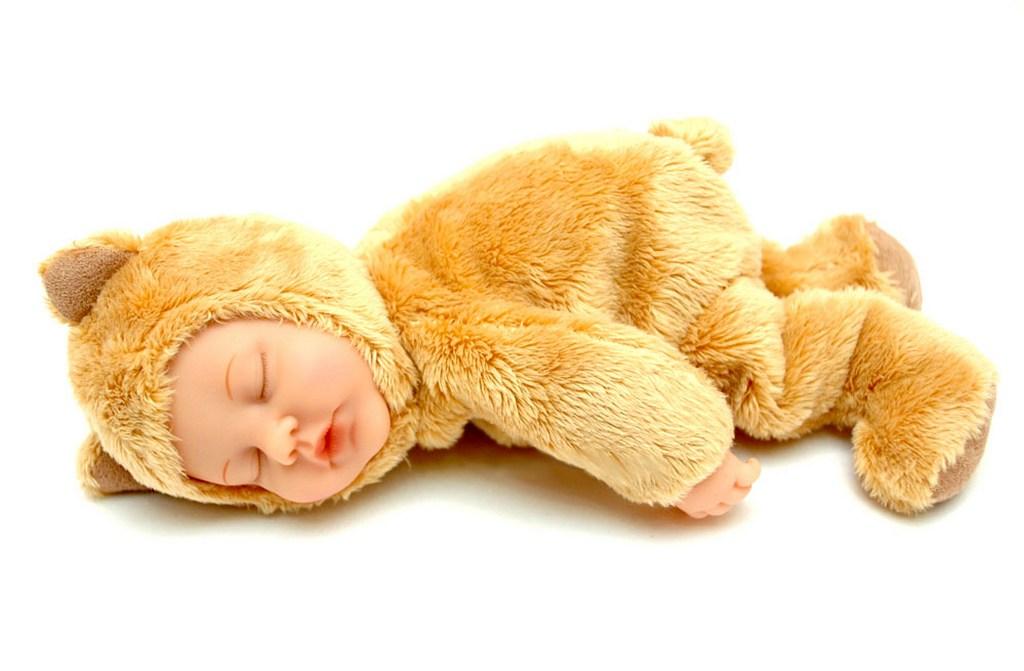 Кукла-мишка спящий Anne Geddes 579103-AG