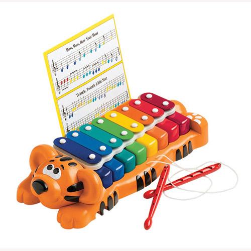 Развивающая музыкальная игрушка - Тигренок-Ксилофон (звук)