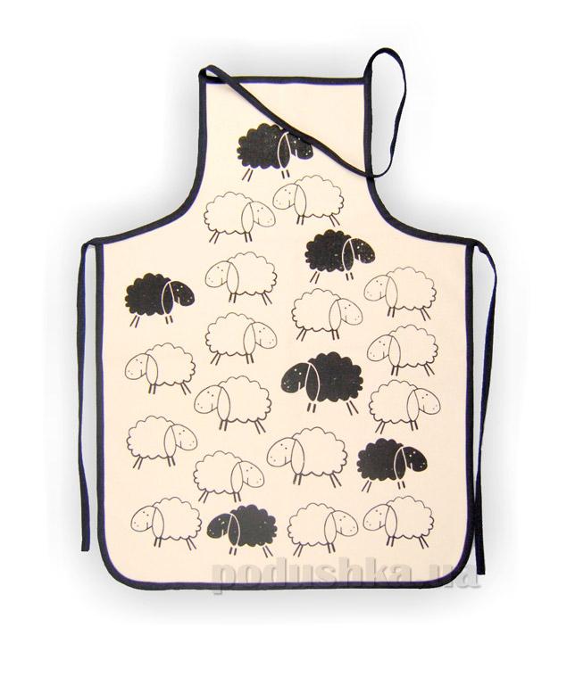 Фартук махровый Home line Черные овечки