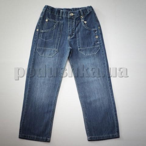 Штаны для мальчиков Бемби ШР115 джинс