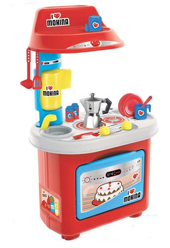 Игровой набор - Кухня - Биалетти Мукка (звуковая,12 аксессуаров, 80 см)