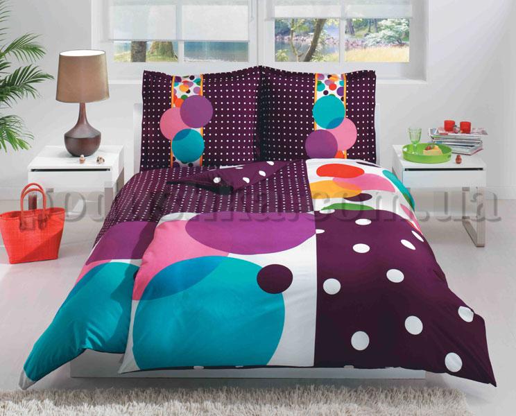 Постельное белье TAC Game фиолетовый