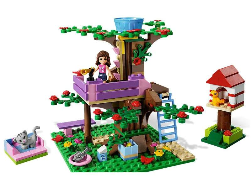Домик на дереве Оливии
