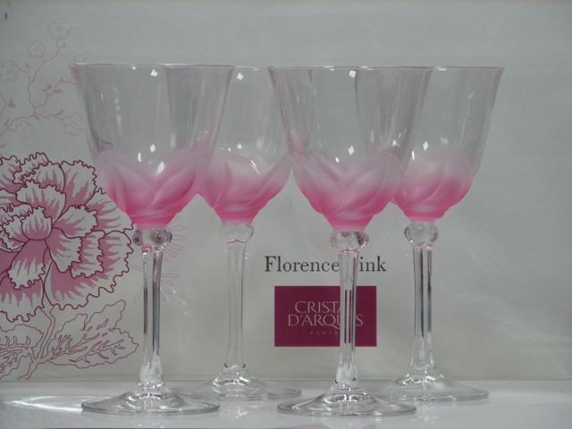 Набор CD'A FLORENCE PINK /160X4 бокалов д/вина