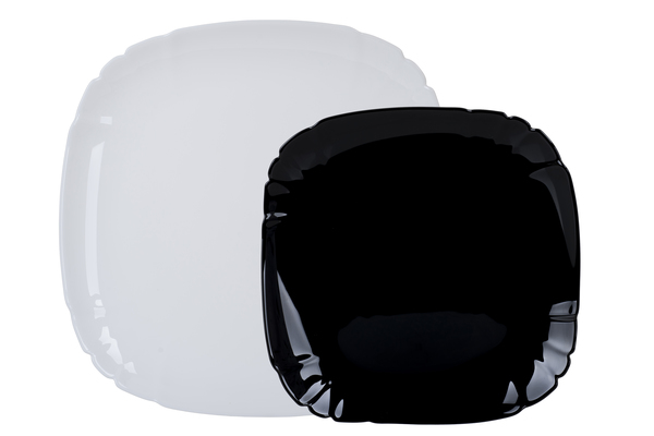 Столовый сервиз Luminarc Lotusia Black and White 12 предметов N5229