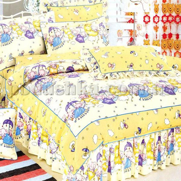 Постельное белье в детскую кроватку Love you 007