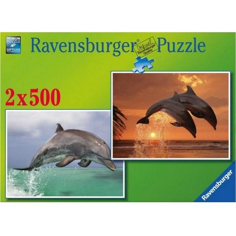 Пазл Дельфины Ravensburger 80954-Rb