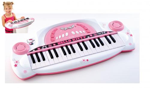 Синтезатор Супер звезда Hello Kitty с функцией записи