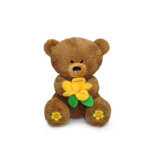 Мягкая игрушка Медвежонок масик с вышитыми пятками