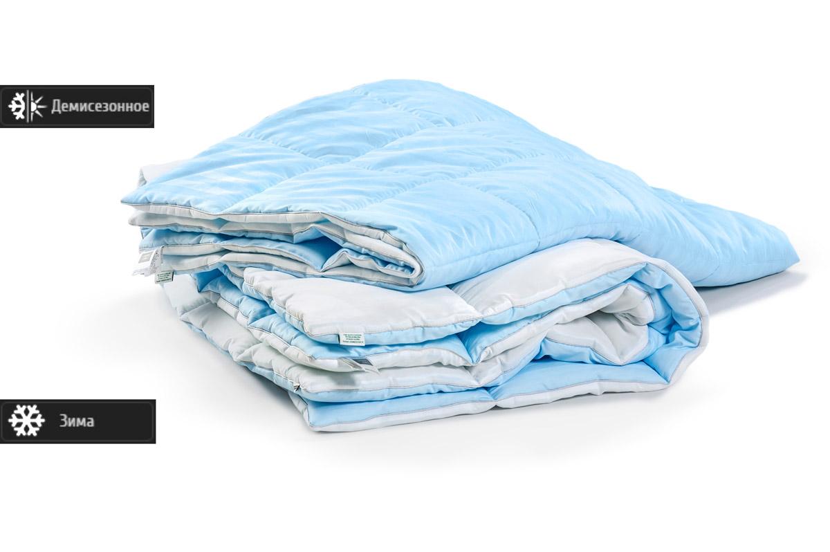 Одеяло антиаллергенное EcoSilk Valentino Деми Чехол сатин+микро 004 демисезонное 140х205 см вес 700 г. MirSon