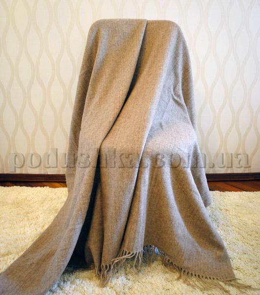 Плед Cashmere бежево-коричневый