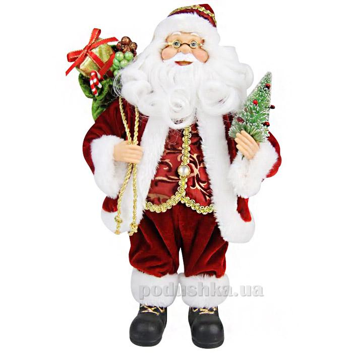 Фигурка Дед Мороз с елкой Angel Gifts F06R-W-14RS-G1A12 ST