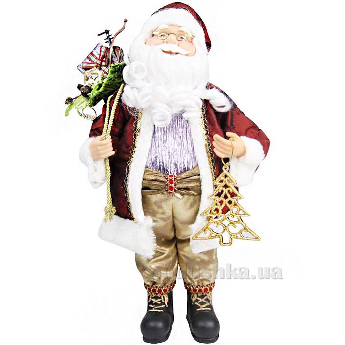 Фигурка Дед Мороз с елкой Angel Gifts F24BUR-W-V-G3A18 ST