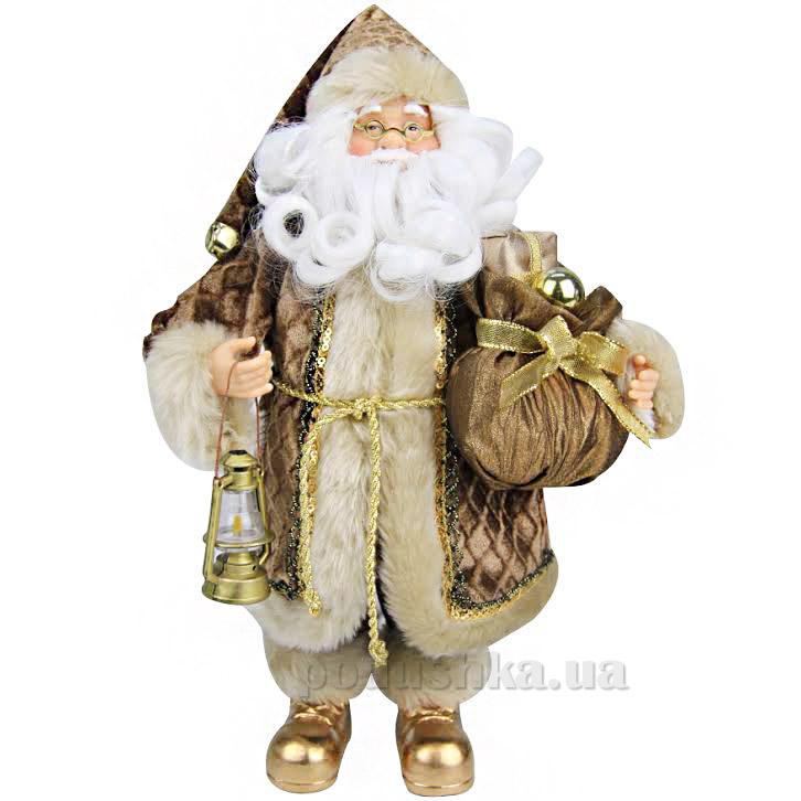 Фигурка Дед Мороз с лампой Angel Gifts F14BRRP-BE-G3A12 ST