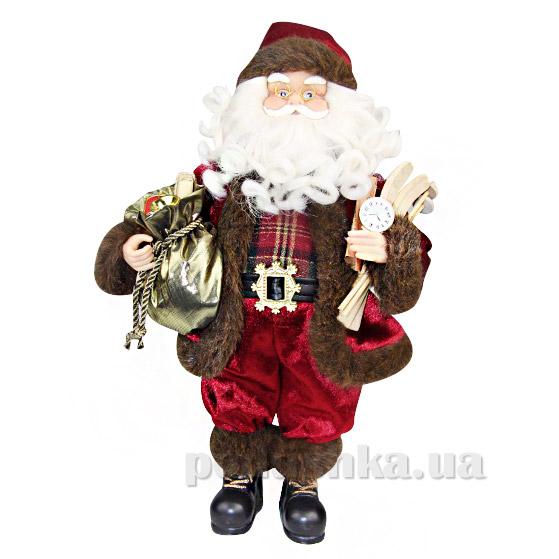 Фигурка Дед Мороз с лыжами Angel Gifts F03BU-BR-GOA18 ST