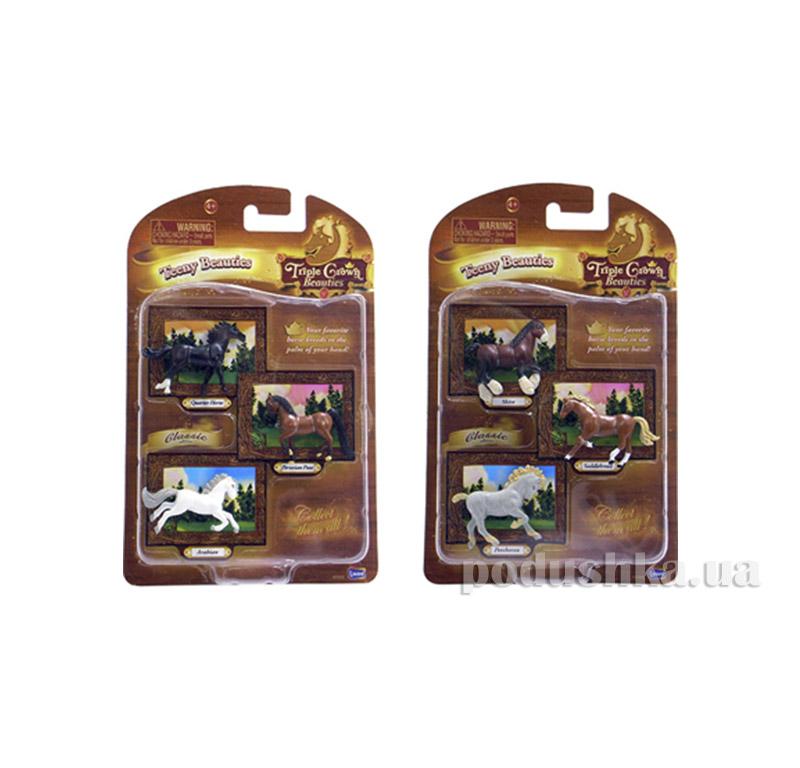 Фигурки из 3 лошадей в ассортименте Lanard 85055