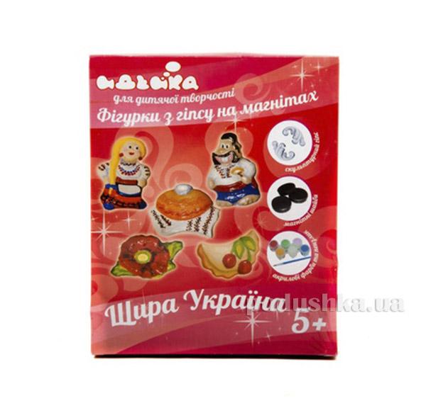 Фигурки из гипса на магнитах Истинная Украина Идейка 06094127