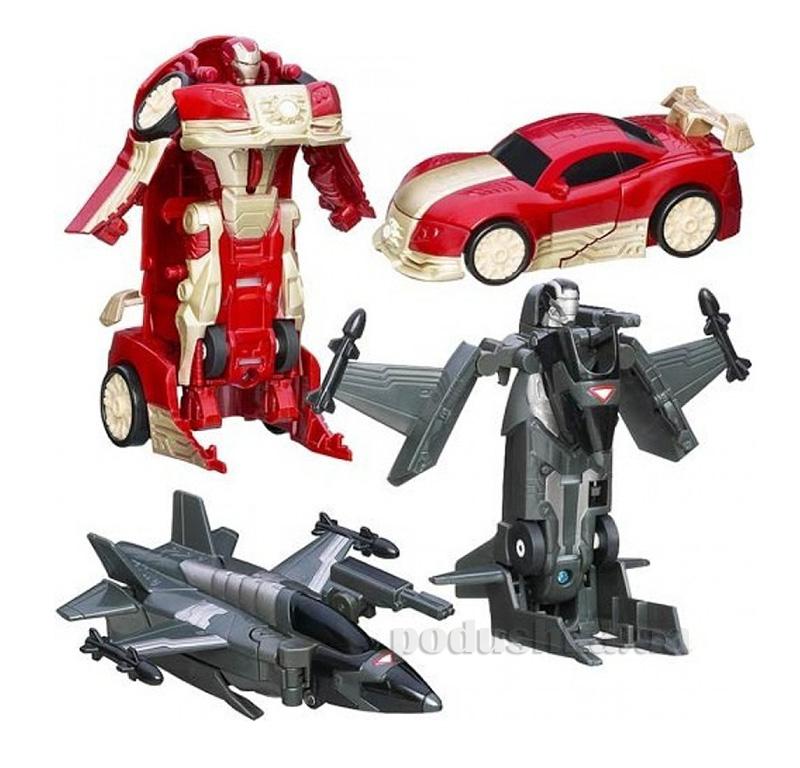 Фигурки трансформеры Железный Человек в ассортименте Hasbro AKT-A1731