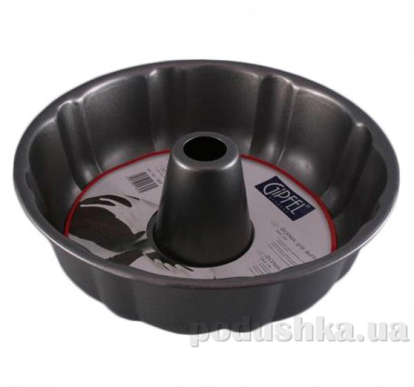Форма для выпечки круглого кекса Gipfel 24х8 см с антипригарным покрытием (нерж сталь)